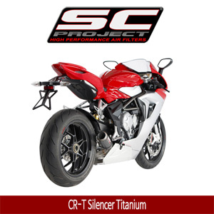 SC프로젝트 MV AGUSTA F3 675/800 CR-T Silencer Titanium