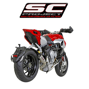 SC프로젝트 MV AGUSTA RIVALE CR-T  SILENCER WITH DE-CAT LINK PIPE Titanium