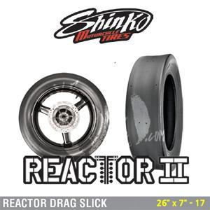 """신코타이어 REACTOR DRAG SLICK 26"""" x 7"""" - 17"""