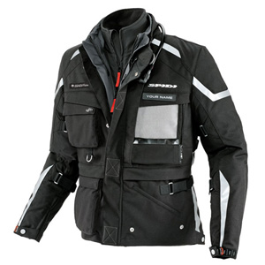 스피디 자켓 Spidi Ergo 365 Pro Expedition waterproof Textile Jacket Black (Black)
