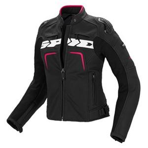 스피디 자켓 Spidi Evorider Leather Lady (Black/Fuxia) - 여성용