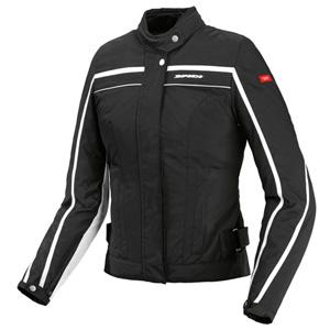 스피디 자켓 Spidi Street Lady Textile Jacket (Black/White) - 여성용
