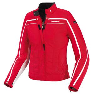 스피디 자켓 Spidi Street Lady Textile Jacket (Red) - 여성용
