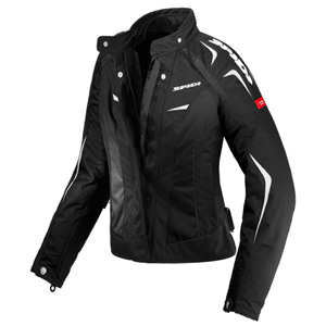스피디 자켓 Spidi Sport Lady Textile Jacket (Black/White) - 여성용