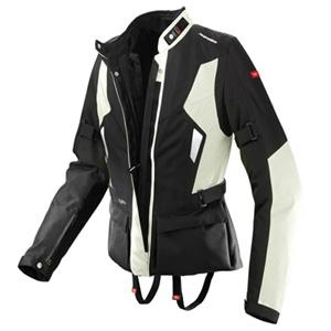 스피디 자켓 Spidi Voyager Lady Textile Jacket (Black/Ice) - 여성용