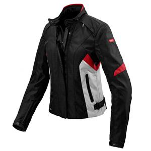 스피디 자켓 Spidi Flash H2Out (Black/Grey/Red) - 여성용