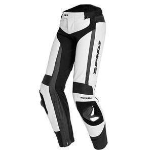 스피디 바지 Spidi RR Pro Pants Lady Women Leather Pant (White/Black) - 여성용