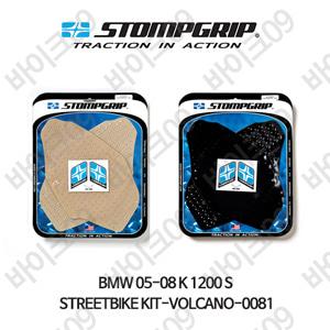 BMW 05-08 K1200S STREETBIKE KIT-VOLCANO-0081 스텀프 테크스팩 오토바이 니그립 패드