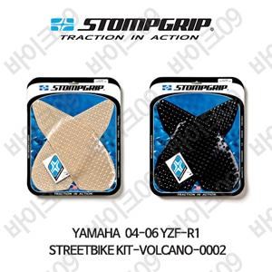 야마하 04-06 YZF-R1 STREETBIKE KIT-VOLCANO-0002 스텀프 테크스팩 오토바이 니그립 패드