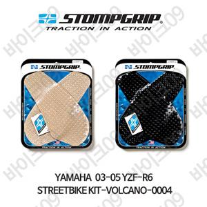 야마하 03-05 YZF-R6 STREETBIKE KIT-VOLCANO-0004 스텀프 테크스팩 오토바이 니그립 패드
