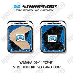 야마하 09-14 YZF-R1 STREETBIKE KIT-VOLCANO-0007 스텀프 테크스팩 오토바이 니그립 패드