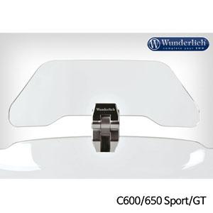 분덜리히 BMW C600/650 Sport/GT 보조스크린 deflector VARIO-ERGO+a - clear