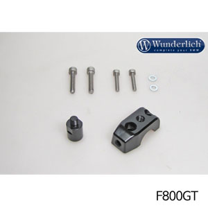 분덜리히 F800GT Mirror clamp for additional mirror (Set) 블랙색상