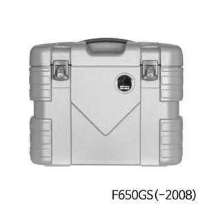 분덜리히 F650GS(-2008) Krauser GOBI pannier set - silver