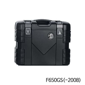 분덜리히 F650GS(-2008) Krauser GOBI pannier set - black