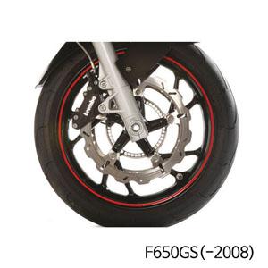 분덜리히 F650GS(-2008) Wheel rim stickers - red