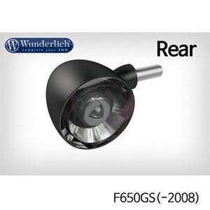 분덜리히 F650GS(-2008) Kellerman Bullet 1000 (piece) - rear - black