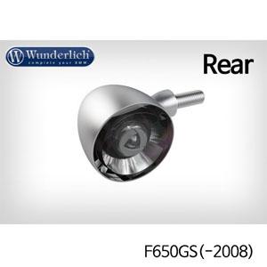 분덜리히 F650GS(-2008) Kellerman Bullet 1000 (piece) - rear - matt chrome