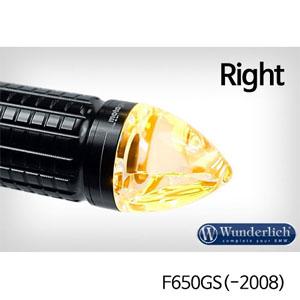 """분덜리히 F650GS(-2008) Motogadget """"m-Blaze cone"""" indicator - right - black"""