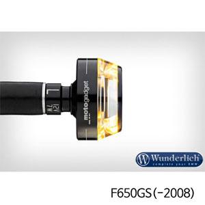 """분덜리히 F650GS(-2008) Motogadget """"m-Blaze Disc"""" indicator - left - black"""