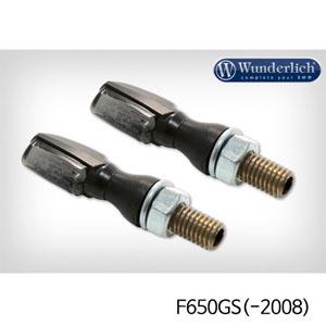 분덜리히 F650GS(-2008) LED tail light indicator pair SPARK tinted - black