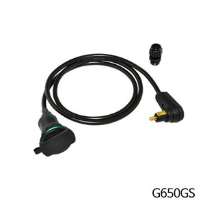 분덜리히 G650GS Tank bag power supply (right-angle plug ) - Angled plug