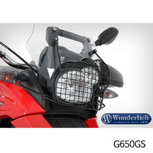 분덜리히 G650GS Headlight grill - black