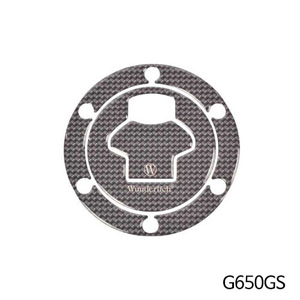 분덜리히 G650GS Filler cap cover carbon look - carbon optic