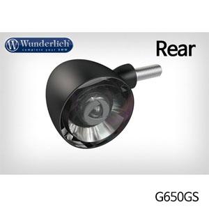 분덜리히 G650GS Kellerman Bullet 1000 (piece) - rear - black