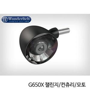 분덜리히 G650X 챌린지/컨츄리/모토 Kellerman Bullet 1000 (piece) - front - black