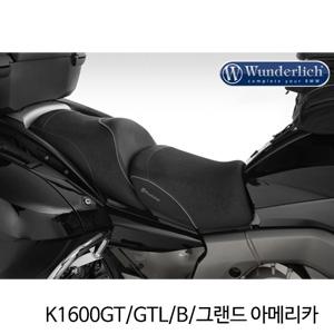분덜리히 K1600GT/GTL/B/그랜드 아메리카 driver seat K 1600 GT - black