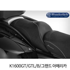 분덜리히 K1600GT/GTL/B/그랜드 아메리카 co-driver seat K 1600 GT - black