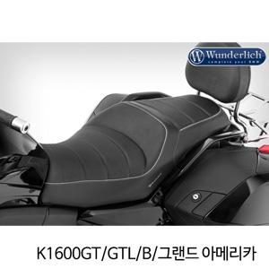 분덜리히 K1600GT/GTL/B/그랜드 아메리카 driver seat with seat heater ERGO - black