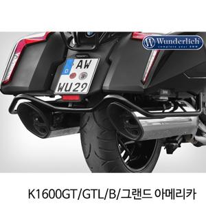 분덜리히 K1600GT/GTL/B/그랜드 아메리카 case protection bar - black 타입1