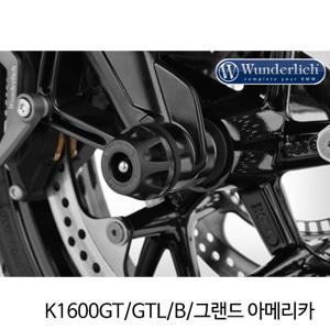 분덜리히 K1600GT/GTL/B/그랜드 아메리카 Crash Protectors DoubleShock ?DOUBLESHOCK - black