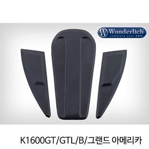 분덜리히 K1600GT/GTL/B/그랜드 아메리카 Tank pad set - black 타입1
