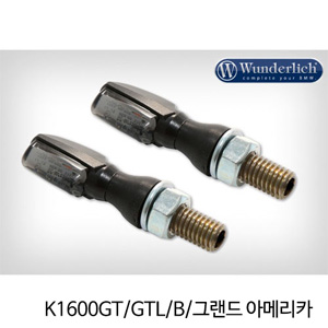 분덜리히 K1600GT/GTL/B/그랜드 아메리카 LED tail light indicator pair SPARK tinted - black