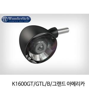 분덜리히 K1600GT/GTL/B/그랜드 아메리카 Kellerman Bullet 1000 (piece) - front - black