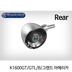 분덜리히 K1600GT/GTL/B/그랜드 아메리카 Kellerman Bullet 1000 (piece) - rear - matt chrome