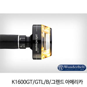 "분덜리히 K1600GT/GTL/B/그랜드 아메리카 Motogadget ""m-Blaze Disc"" indicator - left - black"