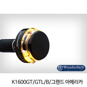 "분덜리히 K1600GT/GTL/B/그랜드 아메리카 Motogadget ""m-Blaze Disc"" indicator - right - black"