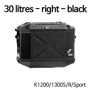 분덜리히 K1200/1300S/R/Sport Hepco & Becker Xplorer case | 30 litres - right - black