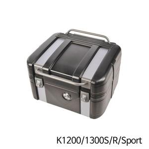 분덜리히 K1200/1300S/R/Sport Hepco & Becker GOBI Topcase 42 Black Edition - Black&Silver Edition