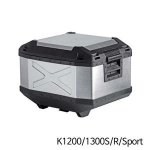 분덜리히 K1200/1300S/R/Sport Hepco & Becker Xplorer Topcase aluminium 45 litres - silver