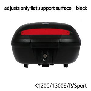 분덜리히 K1200/1300S/R/Sport Top Case TC 50 with adapter plate | adjusts only flat support surface - black