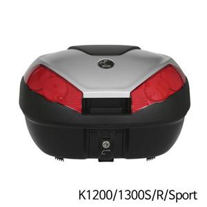 분덜리히 K1200/1300S/R/Sport Hepco & Becker Journey Topcase 52 litres volume - black-silver