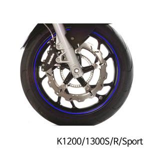 분덜리히 K1200/1300S/R/Sport Wheel rim stickers - blue