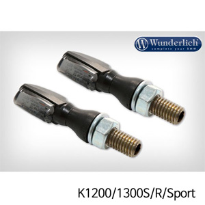 분덜리히 K1200/1300S/R/Sport LED tail light indicator pair SPARK tinted - black