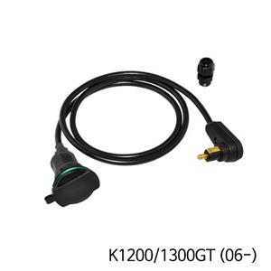 분덜리히 K1200/1300GT (06-) Tank bag power supply (right-angle plug ) - Angled plug