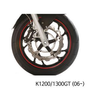 분덜리히 K1200/1300GT (06-) Wheel rim stickers - red